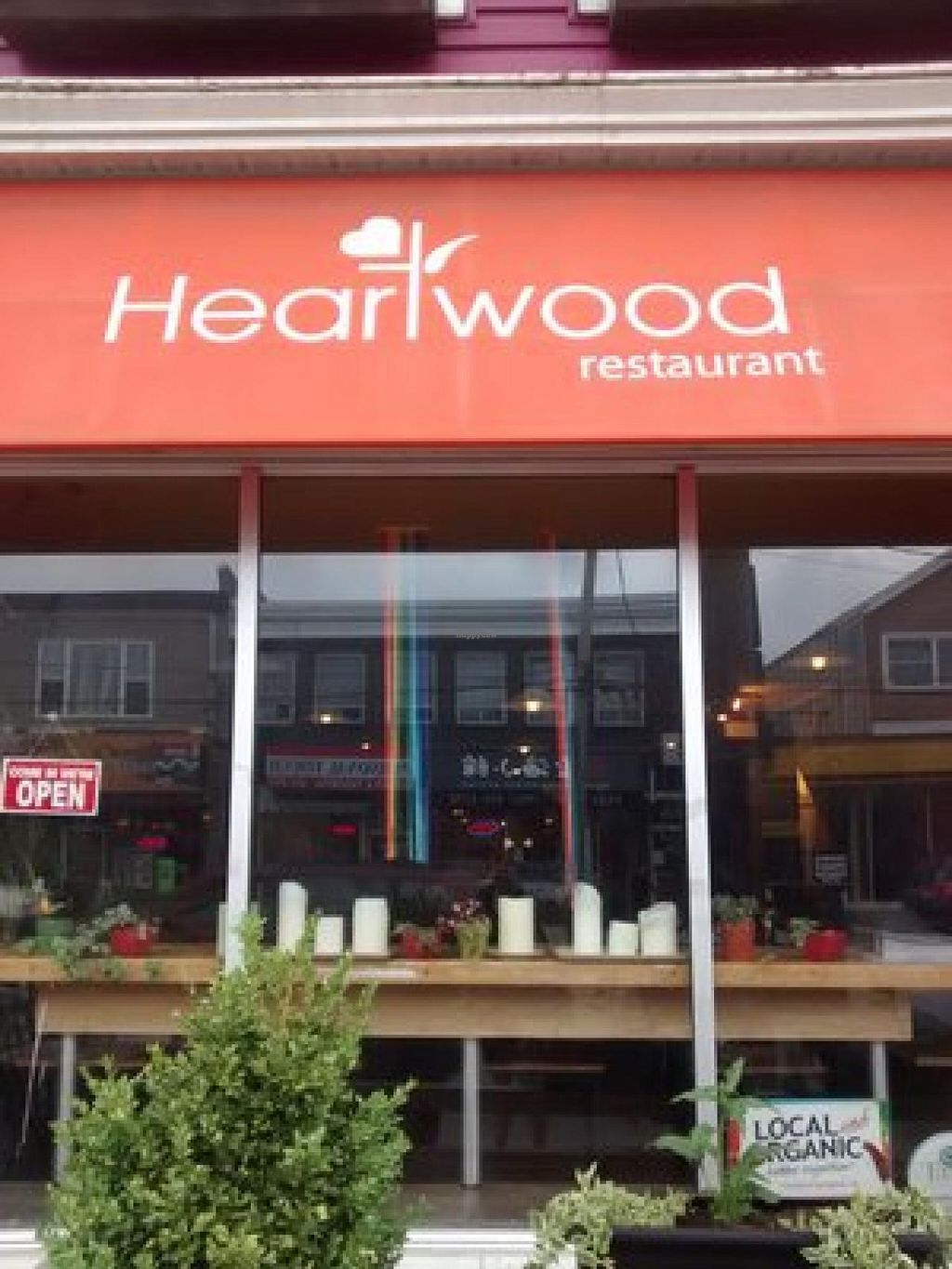 """Photo of Heartwood Bakery & Cafe - Quinpool Rd  by <a href=""""/members/profile/QuothTheRaven"""">QuothTheRaven</a> <br/>Outside <br/> July 24, 2015  - <a href='/contact/abuse/image/1294/110816'>Report</a>"""