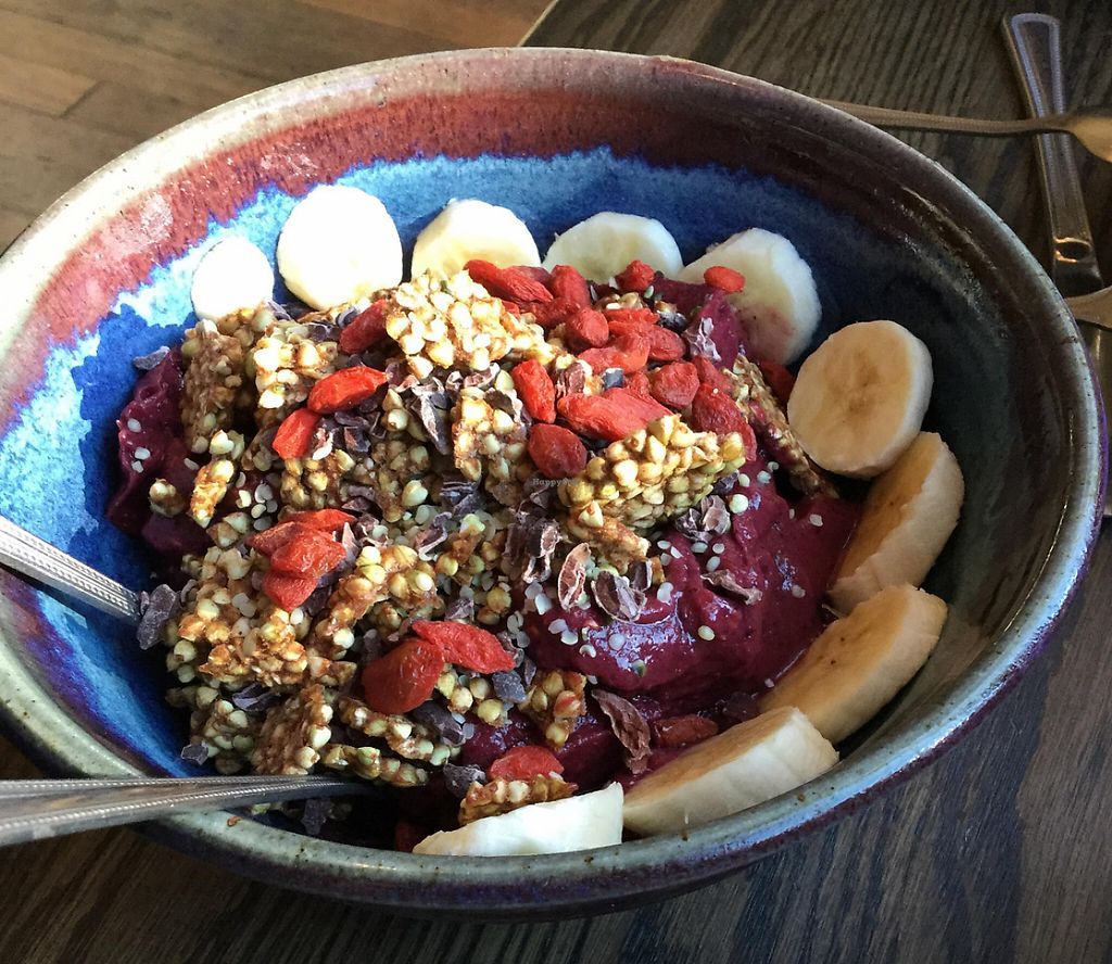 "Photo of Lotus  by <a href=""/members/profile/MausEsel"">MausEsel</a> <br/>Frozen Acai and buckwheat granola breakfast bowl <br/> August 16, 2015  - <a href='/contact/abuse/image/12967/233808'>Report</a>"