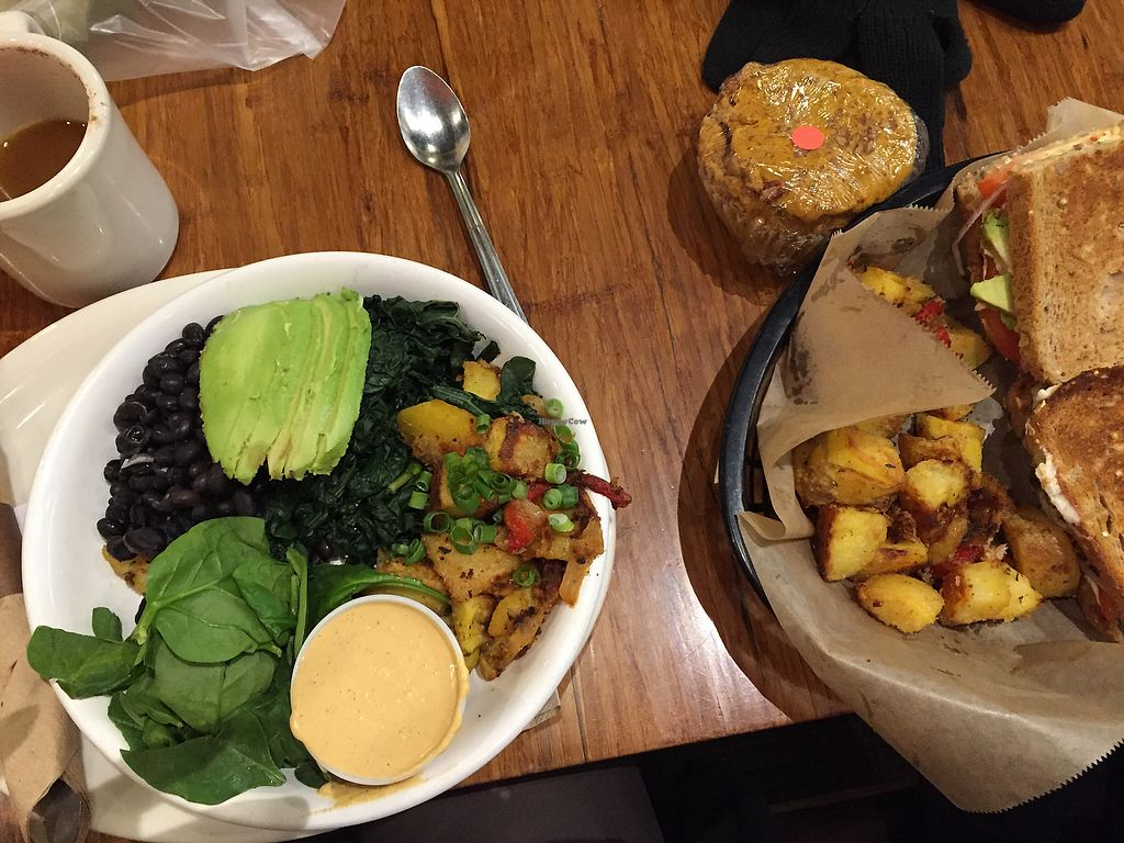 """Photo of Middle Way Cafe  by <a href=""""/members/profile/TiffanyJanay"""">TiffanyJanay</a> <br/>breakfast. all vegan and gluten free.  <br/> June 26, 2017  - <a href='/contact/abuse/image/12993/273562'>Report</a>"""