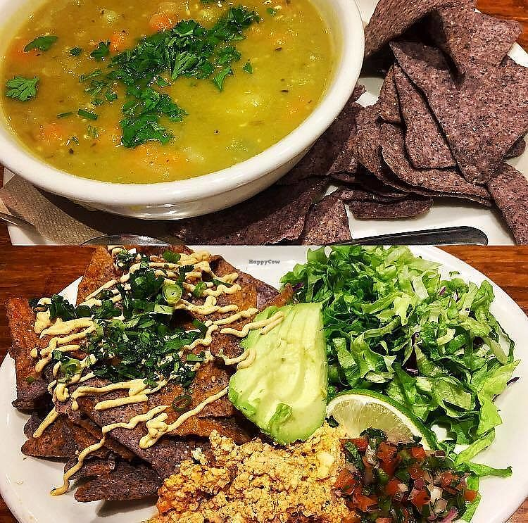 """Photo of Middle Way Cafe  by <a href=""""/members/profile/ErinElizabeth907"""">ErinElizabeth907</a> <br/>A vegan breakfast special and a daily soup <br/> November 22, 2017  - <a href='/contact/abuse/image/12993/328210'>Report</a>"""