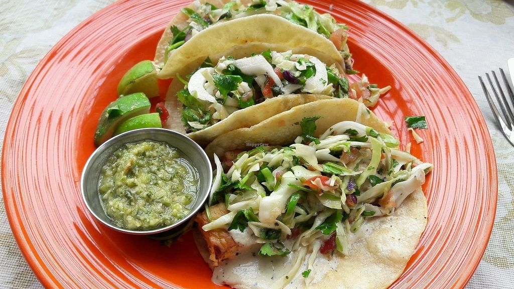 """Photo of Cafe Mundo  by <a href=""""/members/profile/redhedtatgrl"""">redhedtatgrl</a> <br/>tempeh tacos <br/> April 4, 2018  - <a href='/contact/abuse/image/13053/380846'>Report</a>"""