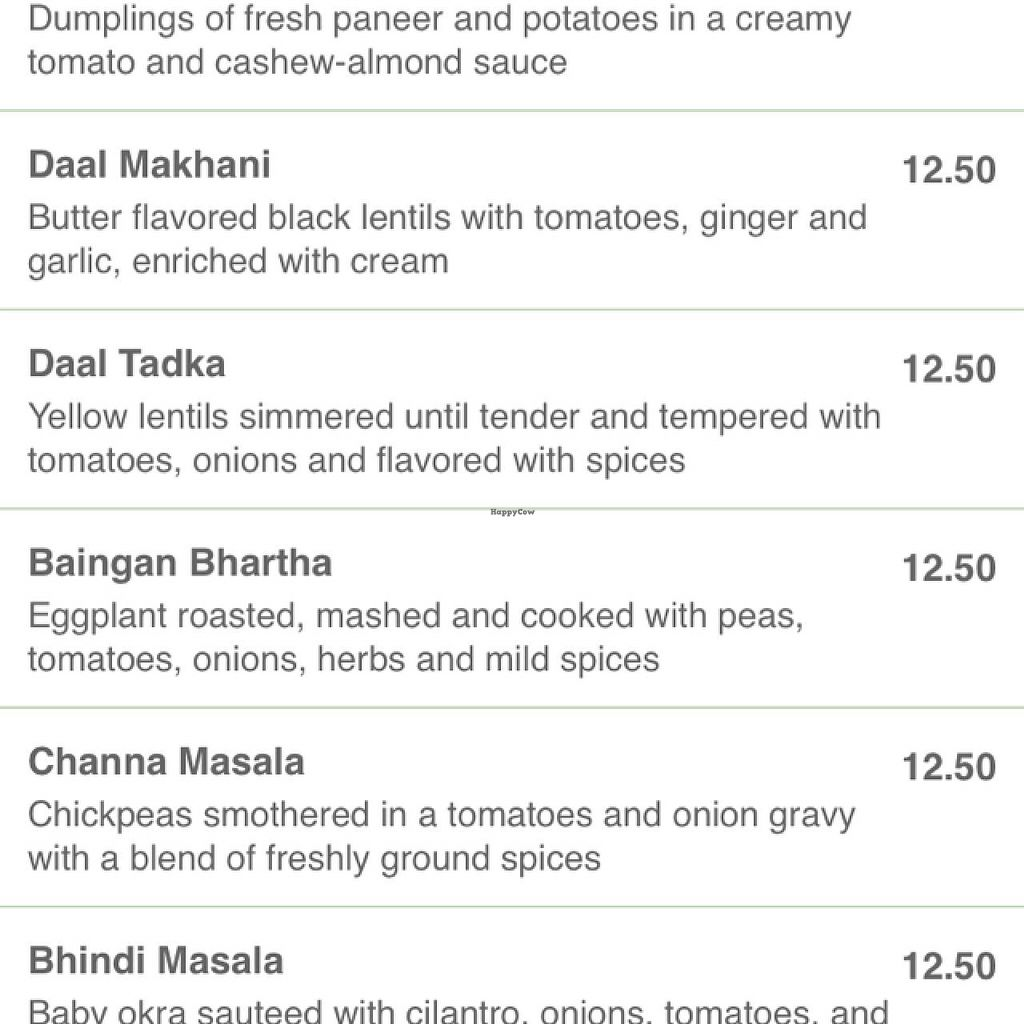 """Photo of Masala Indian Kitchen  by <a href=""""/members/profile/BrittanyCernek"""">BrittanyCernek</a> <br/>masala menu <br/> February 25, 2015  - <a href='/contact/abuse/image/13077/94110'>Report</a>"""
