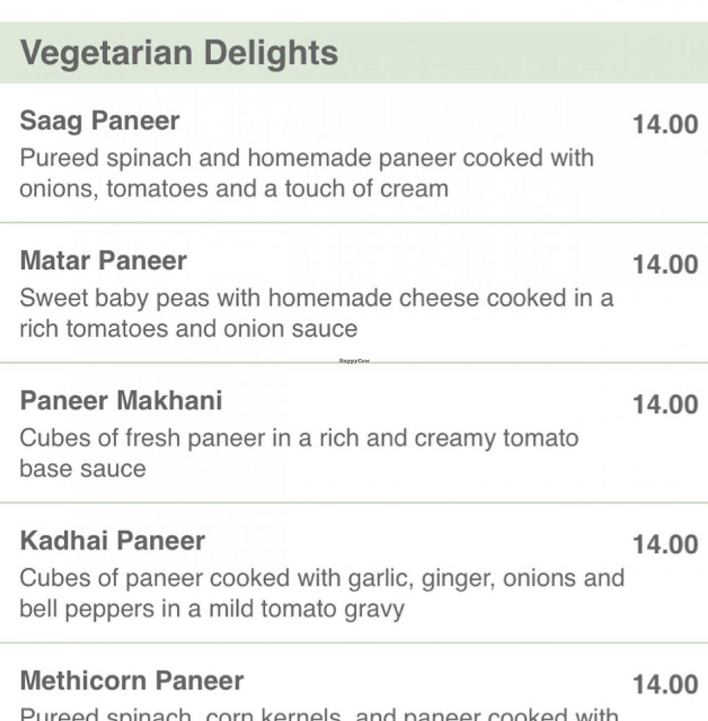 """Photo of Masala Indian Kitchen  by <a href=""""/members/profile/BrittanyCernek"""">BrittanyCernek</a> <br/>masala menu <br/> February 25, 2015  - <a href='/contact/abuse/image/13077/94111'>Report</a>"""
