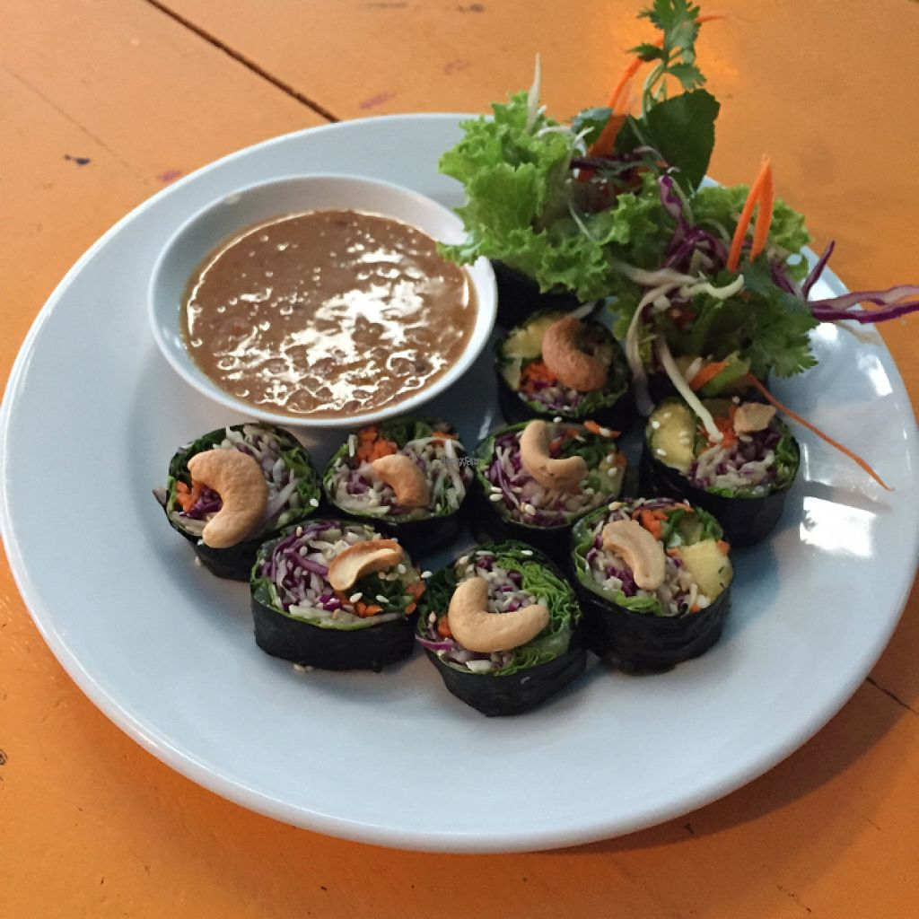 """Photo of May Kaidee's Vegetarian Restaurant  by <a href=""""/members/profile/D0mmi"""">D0mmi</a> <br/>Nori Rolls <br/> April 27, 2017  - <a href='/contact/abuse/image/13082/253096'>Report</a>"""