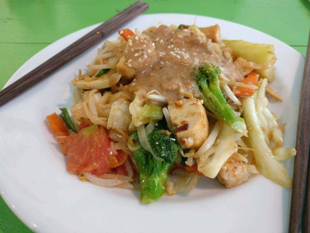"""Photo of May Kaidee's Vegetarian Restaurant  by <a href=""""/members/profile/cdnvegan"""">cdnvegan</a> <br/>Pad Thai - phenomenal <br/> February 9, 2018  - <a href='/contact/abuse/image/13082/356621'>Report</a>"""