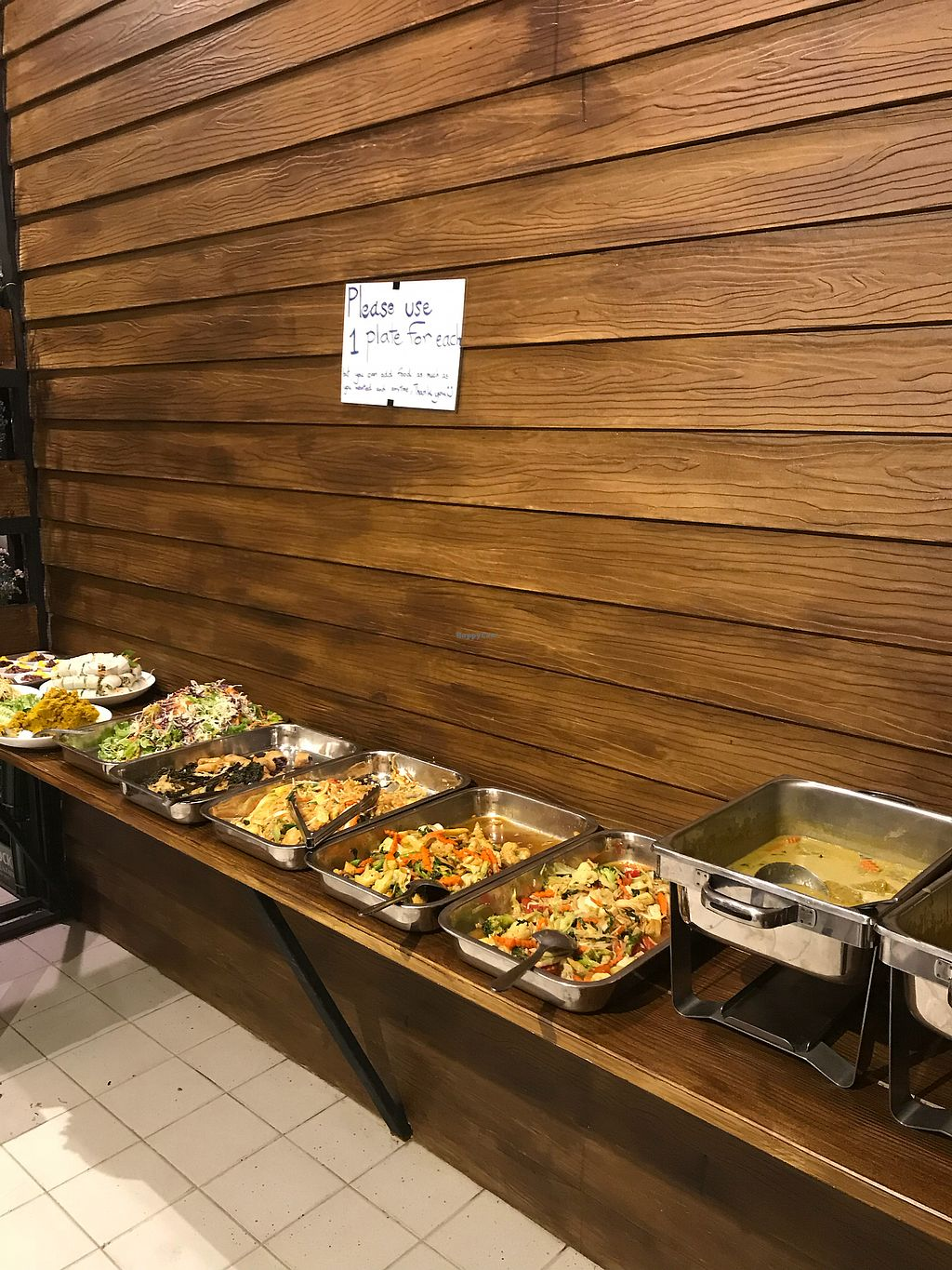 """Photo of May Kaidee's Vegetarian Restaurant  by <a href=""""/members/profile/JessiJune"""">JessiJune</a> <br/>Saturday night buffet 150baht! <br/> April 21, 2018  - <a href='/contact/abuse/image/13082/389029'>Report</a>"""