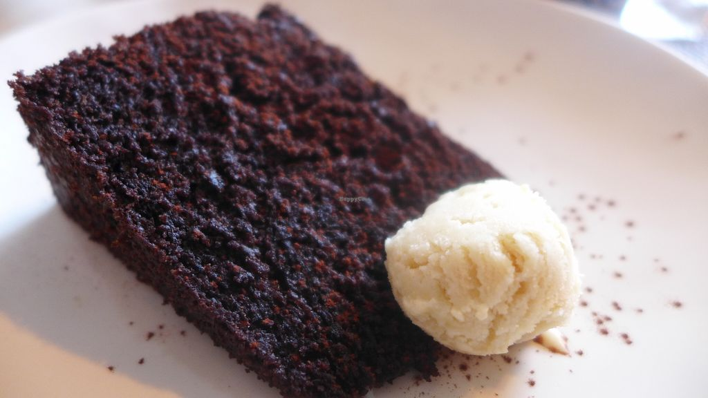 "Photo of Aoi Sora Organic Cafe  by <a href=""/members/profile/Kimxula"">Kimxula</a> <br/>vegan chocolate cake with ice cream <br/> February 20, 2016  - <a href='/contact/abuse/image/13094/136978'>Report</a>"
