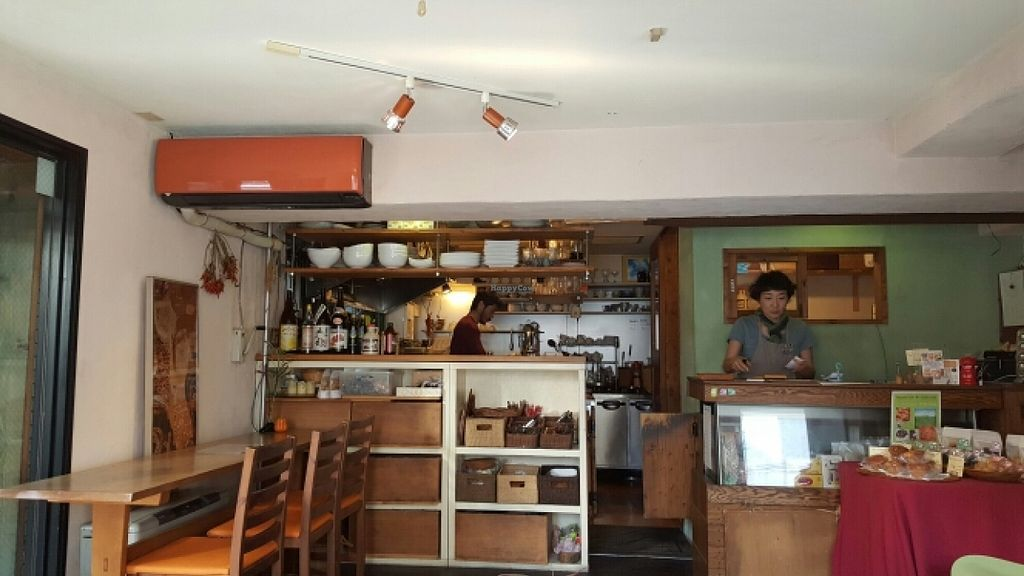 "Photo of Aoi Sora Organic Cafe  by <a href=""/members/profile/Elicesantoso"">Elicesantoso</a> <br/>finallly found it after a long walk from the city <br/> April 20, 2016  - <a href='/contact/abuse/image/13094/145533'>Report</a>"