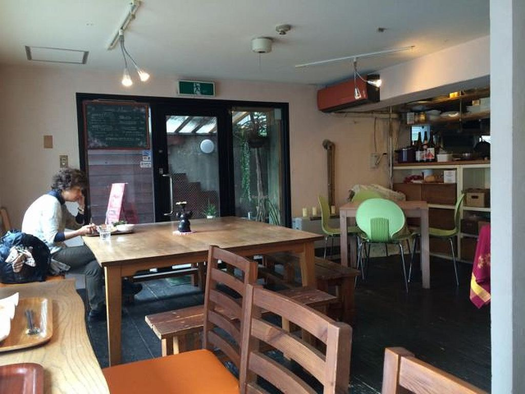 "Photo of Aoi Sora Organic Cafe  by <a href=""/members/profile/JesseWaugh"">JesseWaugh</a> <br/>entrance <br/> May 1, 2014  - <a href='/contact/abuse/image/13094/69030'>Report</a>"