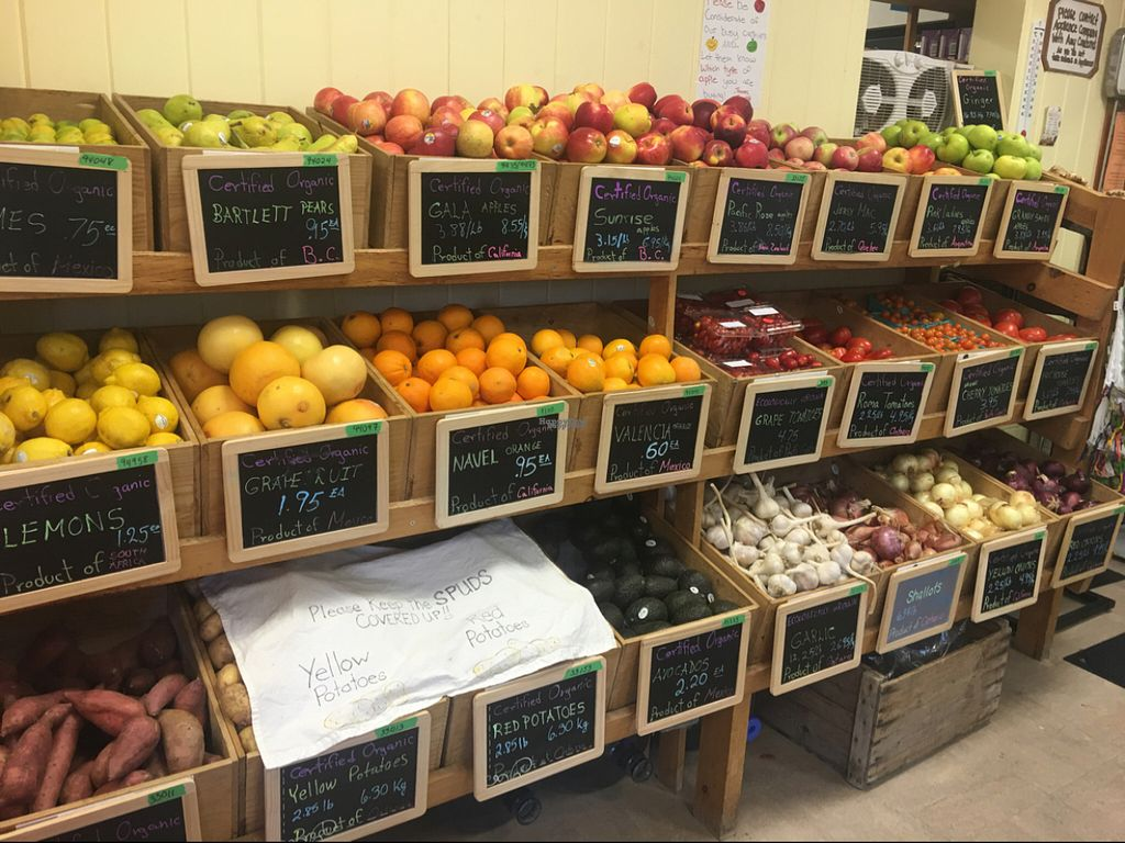 """Photo of Gentle Rain Natural Foods  by <a href=""""/members/profile/Nourished"""">Nourished</a> <br/>fresh organic fruit and veg <br/> August 24, 2016  - <a href='/contact/abuse/image/1311/171155'>Report</a>"""