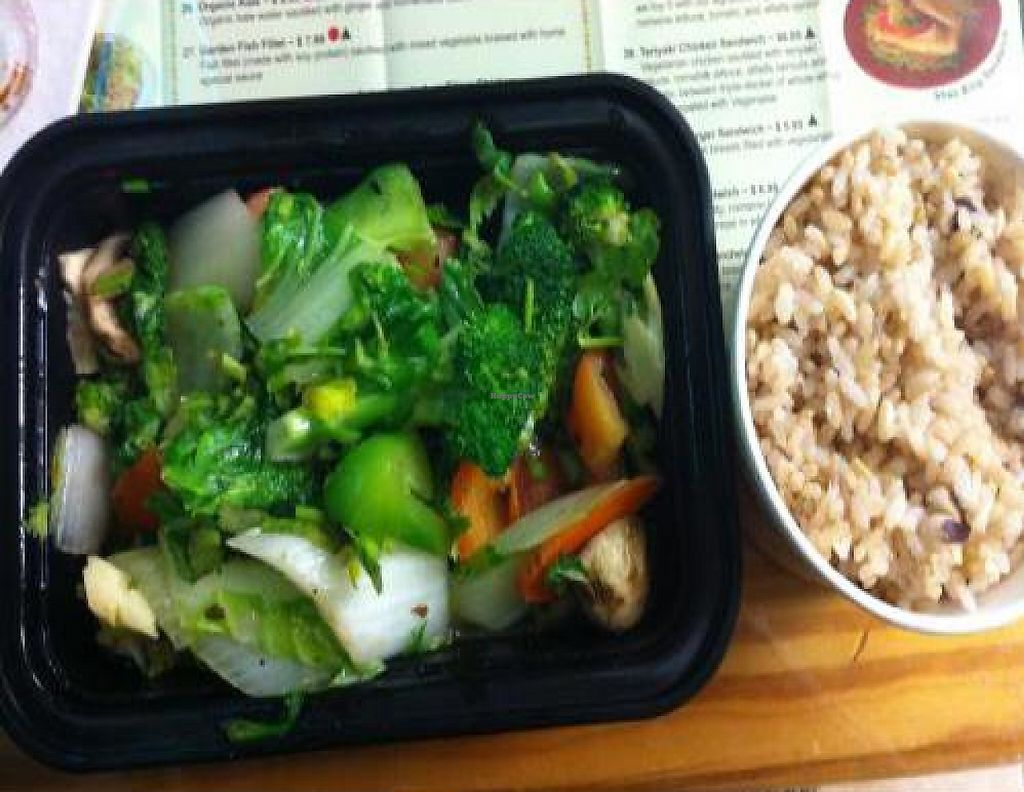 """Photo of Natural Way Cafe  by <a href=""""/members/profile/AshleyxMichelle"""">AshleyxMichelle</a> <br/>Double Vegetable & White Mushroom - Natural Way Cafe <br/> January 17, 2012  - <a href='/contact/abuse/image/13140/219181'>Report</a>"""