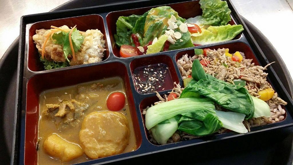 """Photo of CLOSED: 7 Sensations  by <a href=""""/members/profile/rosalindtan97"""">rosalindtan97</a> <br/>Bento Brown Rice Set <br/> September 10, 2014  - <a href='/contact/abuse/image/13203/79509'>Report</a>"""