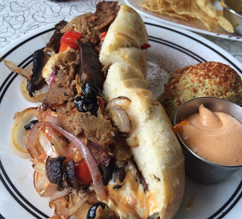 """Photo of Spiral Diner and Bakery  by <a href=""""/members/profile/Chadbartlett"""">Chadbartlett</a> <br/>Philly was awesome! <br/> September 19, 2014  - <a href='/contact/abuse/image/13232/227511'>Report</a>"""