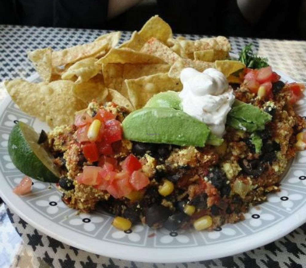 """Photo of Spiral Diner and Bakery  by <a href=""""/members/profile/elles_belles"""">elles_belles</a> <br/>Nachos for breakfast! <br/> April 1, 2012  - <a href='/contact/abuse/image/13232/227512'>Report</a>"""