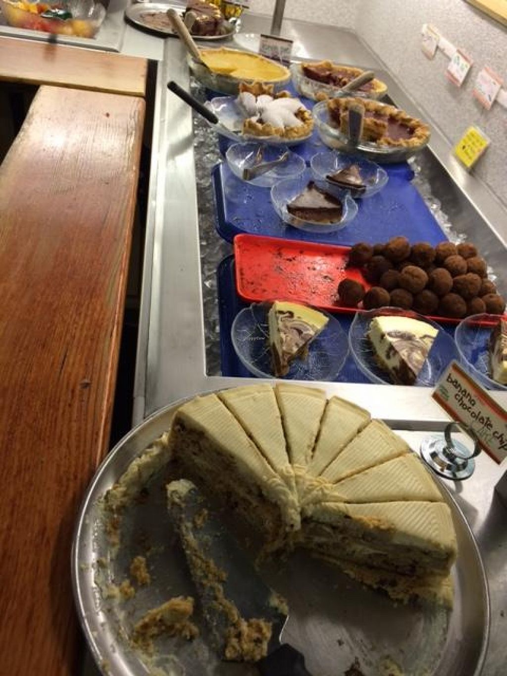 """Photo of The Green Door  by <a href=""""/members/profile/VeganVegasGirl"""">VeganVegasGirl</a> <br/>More dessert choices! <br/> January 2, 2016  - <a href='/contact/abuse/image/1326/130800'>Report</a>"""