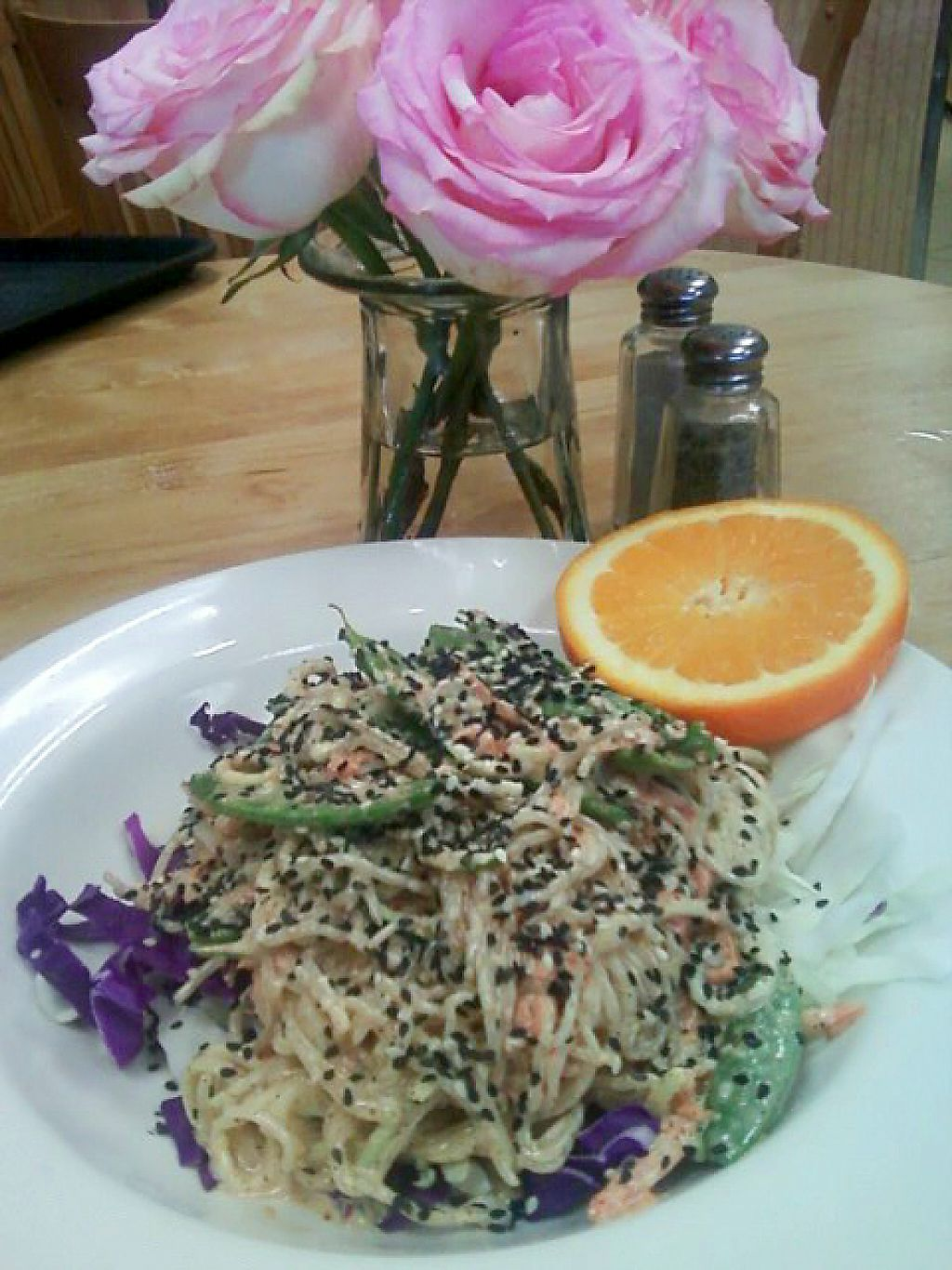 """Photo of Food and Thought  by <a href=""""/members/profile/mshelene"""">mshelene</a> <br/>Raw meal of the day: Raw Pad Thai <br/> April 12, 2017  - <a href='/contact/abuse/image/13329/247309'>Report</a>"""