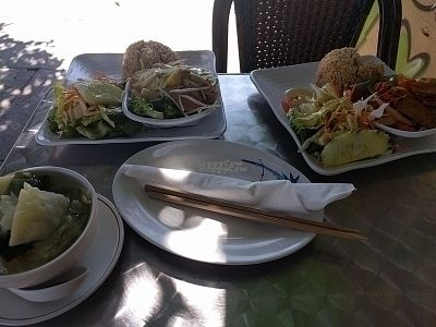 """Photo of CLOSED: The Vegan House  by <a href=""""/members/profile/MatthewVBogusz"""">MatthewVBogusz</a> <br/>two lunch meals so delicioua <br/> October 7, 2016  - <a href='/contact/abuse/image/13377/180187'>Report</a>"""