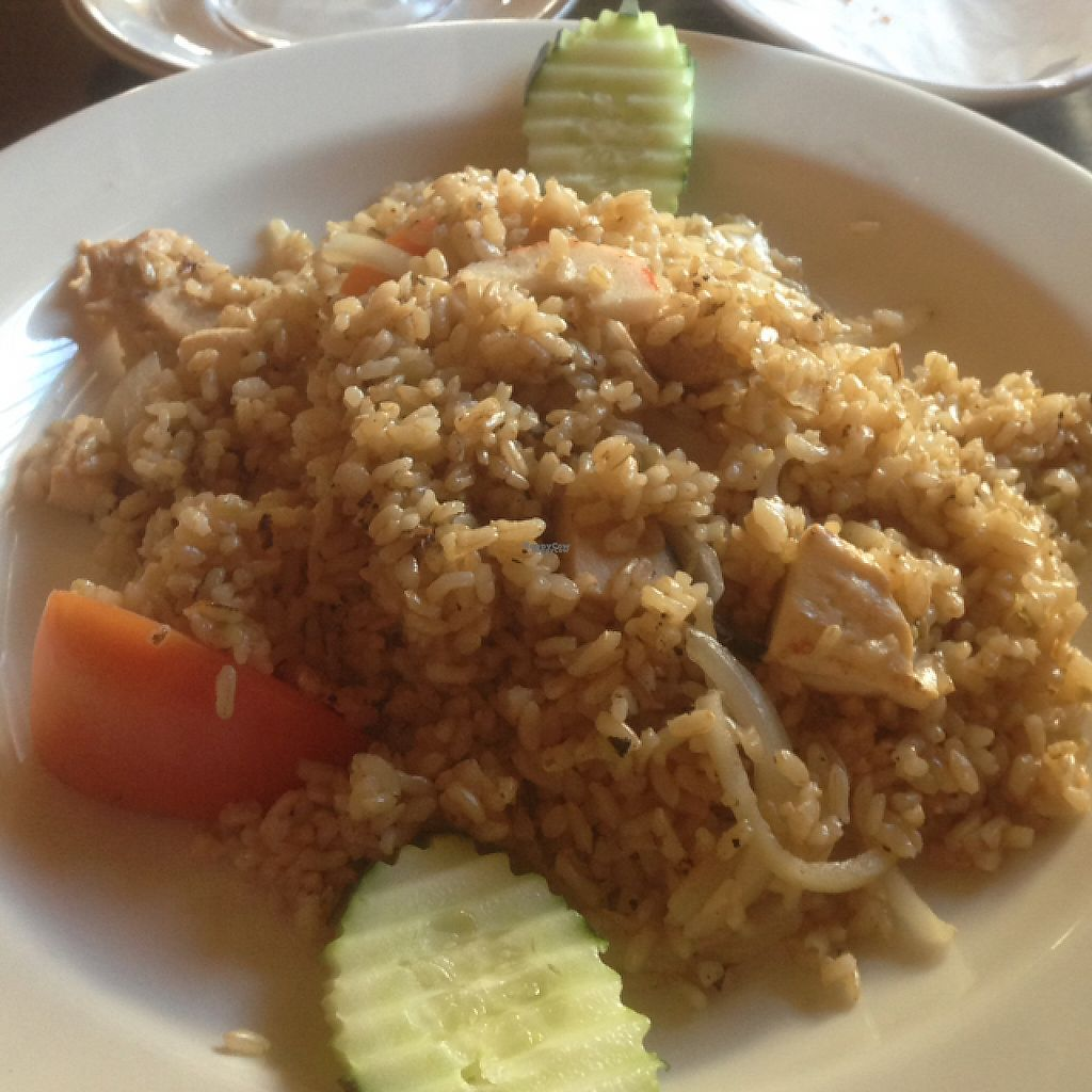 """Photo of CLOSED: The Vegan House  by <a href=""""/members/profile/Norrik"""">Norrik</a> <br/> rice with seafood  <br/> April 21, 2017  - <a href='/contact/abuse/image/13377/250672'>Report</a>"""