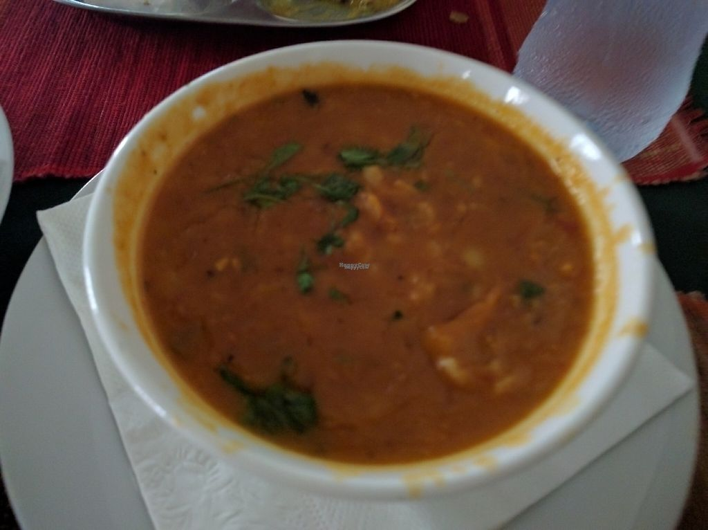 """Photo of Radha Food House  by <a href=""""/members/profile/The%20Hungry%20Vegan"""">The Hungry Vegan</a> <br/>Dal Fry <br/> January 7, 2017  - <a href='/contact/abuse/image/13389/209020'>Report</a>"""