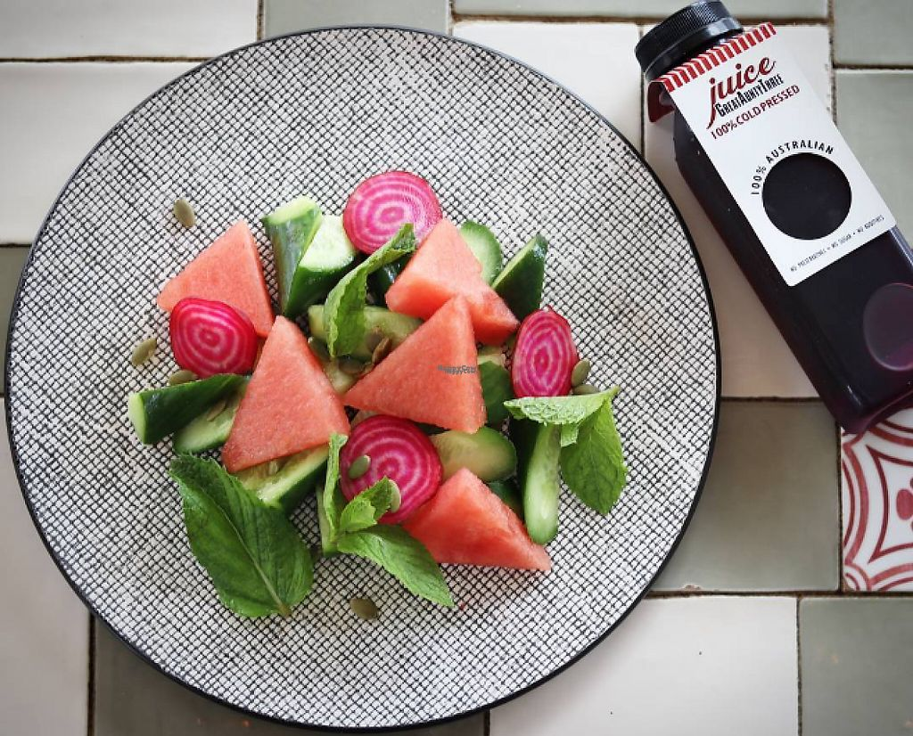 """Photo of Great Cuisine of India  by <a href=""""/members/profile/community"""">community</a> <br/>Watermelon Salad <br/> March 7, 2017  - <a href='/contact/abuse/image/13424/233853'>Report</a>"""