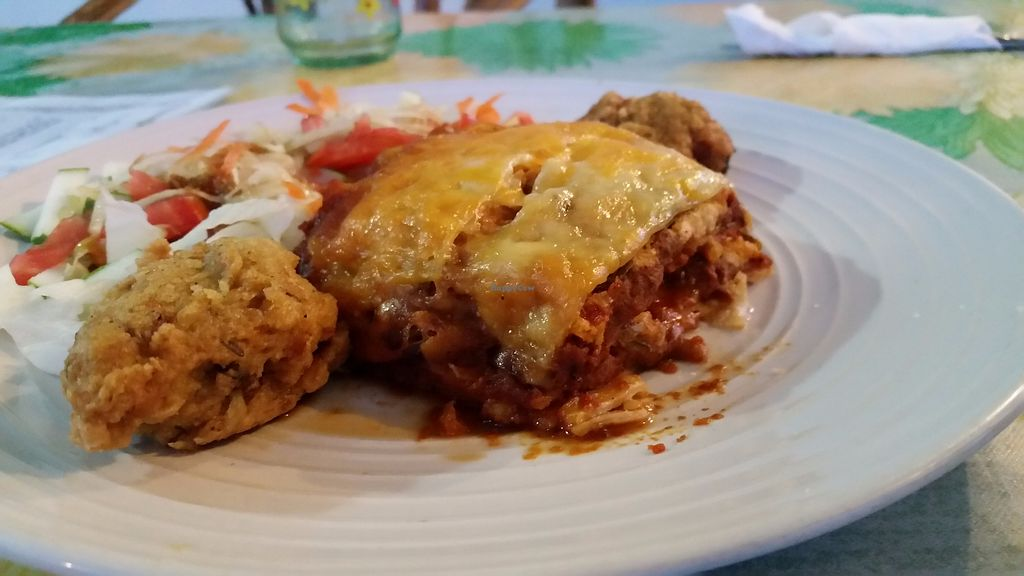 "Photo of Gomier's  by <a href=""/members/profile/rainforestspirit4"">rainforestspirit4</a> <br/>Veggie lasagna <br/> July 25, 2017  - <a href='/contact/abuse/image/13425/284522'>Report</a>"