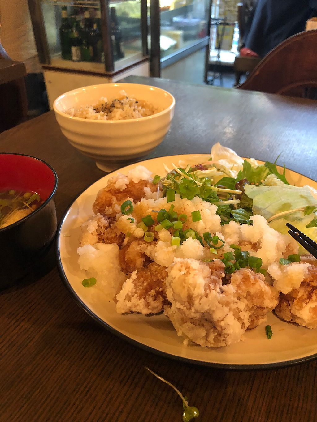 "Photo of Nagi Shokudo  by <a href=""/members/profile/AliAlbino"">AliAlbino</a> <br/>Fried tofu was TERRIFIC! Love it <br/> May 9, 2018  - <a href='/contact/abuse/image/13435/397250'>Report</a>"