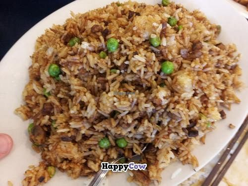 "Photo of The Buddhist Vegetarian Kitchen  by <a href=""/members/profile/waternoke"">waternoke</a> <br/>Fried rice with beef <br/> September 4, 2013  - <a href='/contact/abuse/image/1344/54356'>Report</a>"