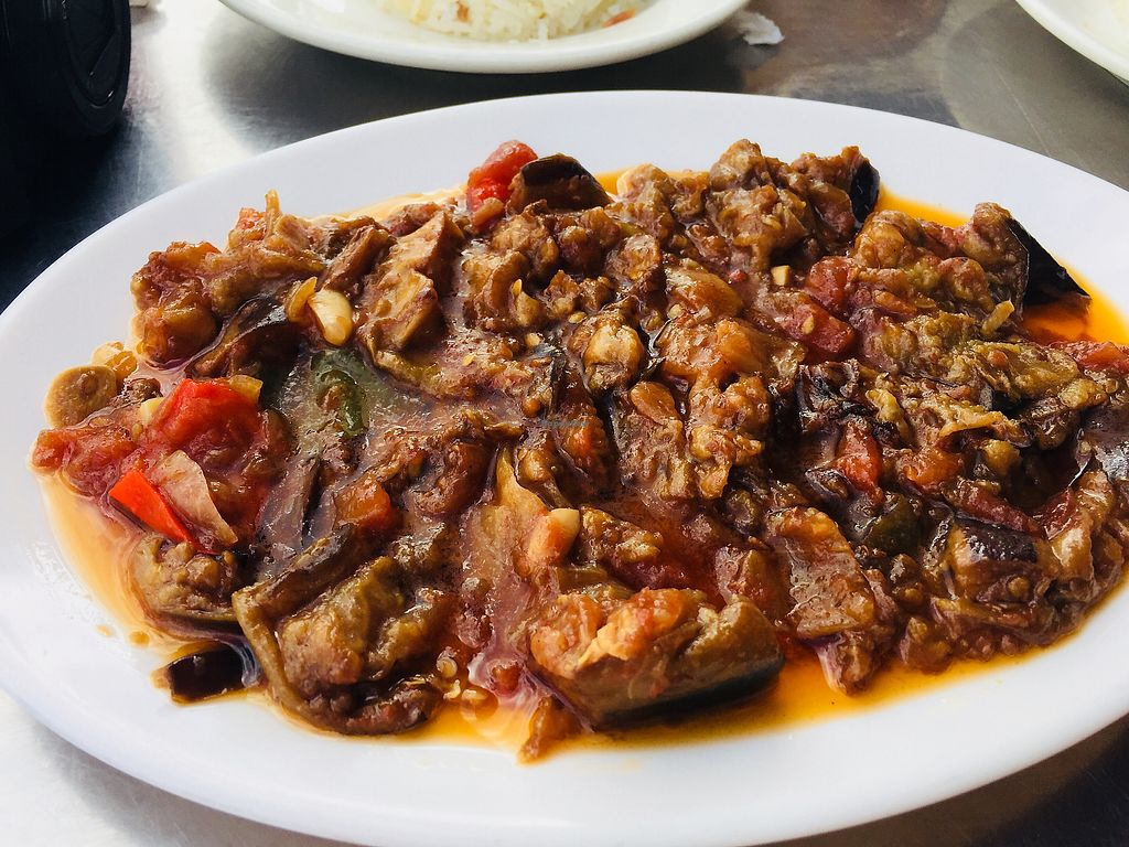 """Photo of Istanbul Restaurant  by <a href=""""/members/profile/plantbaseddfw"""">plantbaseddfw</a> <br/>Delicious eggplant appetizer <br/> February 2, 2018  - <a href='/contact/abuse/image/13600/354126'>Report</a>"""