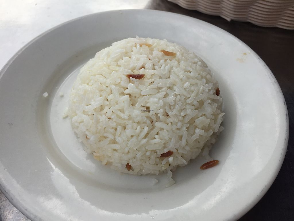 """Photo of Istanbul Restaurant  by <a href=""""/members/profile/plantbaseddfw"""">plantbaseddfw</a> <br/>Side of rice  <br/> February 2, 2018  - <a href='/contact/abuse/image/13600/354128'>Report</a>"""