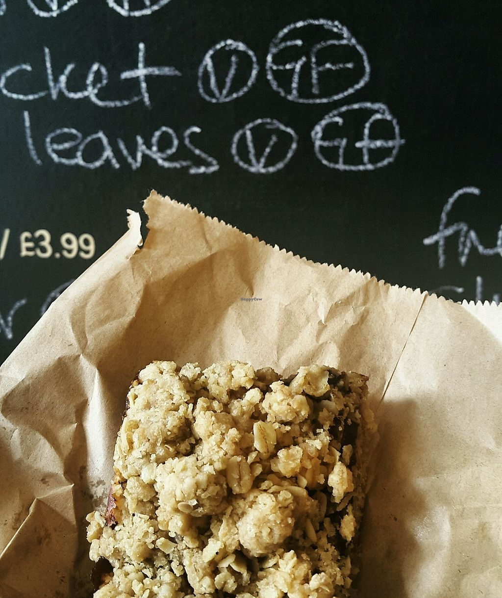"Photo of The Good Earth  by <a href=""/members/profile/TomHester"">TomHester</a> <br/>Vegan date and oat slice <br/> October 22, 2017  - <a href='/contact/abuse/image/13621/317452'>Report</a>"