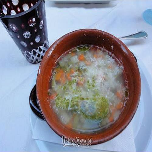 """Photo of Osteria Giorgione  by <a href=""""/members/profile/Jamila10ten"""">Jamila10ten</a> <br/>veggie soup with freshly shaved parm cheese <br/> June 29, 2011  - <a href='/contact/abuse/image/13625/9470'>Report</a>"""