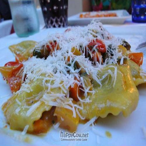 """Photo of Osteria Giorgione  by <a href=""""/members/profile/Jamila10ten"""">Jamila10ten</a> <br/>curry ravioli with fresh parm <br/> June 29, 2011  - <a href='/contact/abuse/image/13625/9472'>Report</a>"""