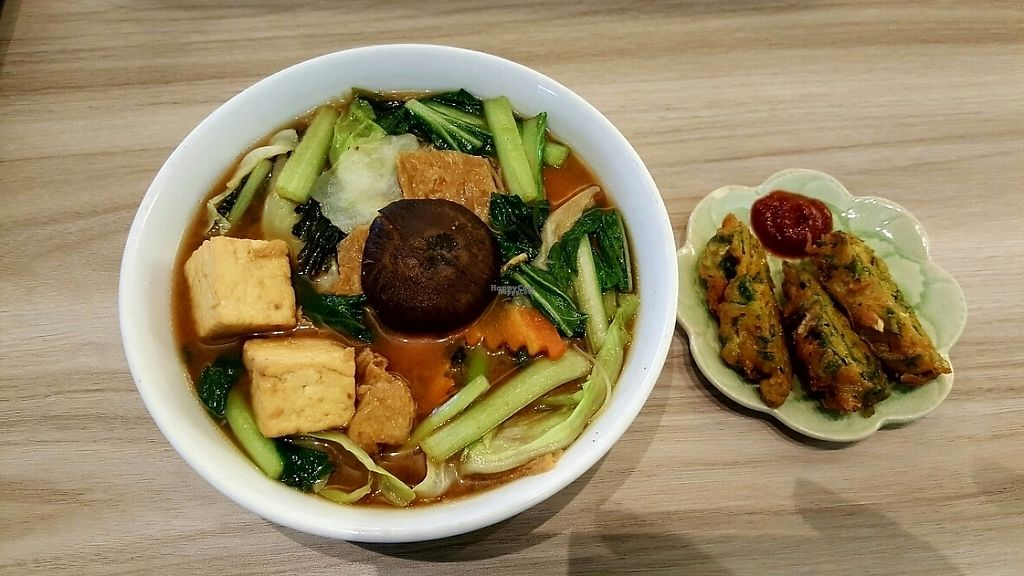 Photo of Roots Organic & Wholesome Cafe  by Raphael_Dane <br/>Miso Noodles <br/> March 6, 2017  - <a href='/contact/abuse/image/13638/233423'>Report</a>