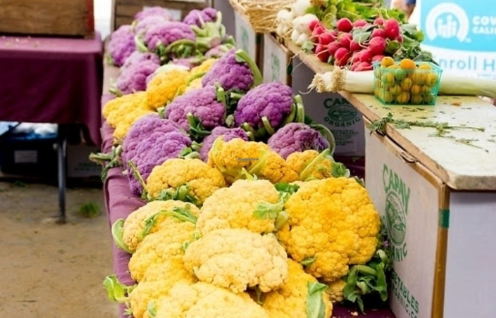"Photo of Grand Lake Farmers Market  by <a href=""/members/profile/MelodyVeganJoy"">MelodyVeganJoy</a> <br/>cauliflower  <br/> March 25, 2018  - <a href='/contact/abuse/image/13660/376109'>Report</a>"