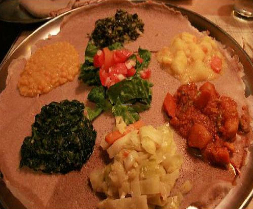 """Photo of Ethiopian Diamond Restaurant  by <a href=""""/members/profile/veganmiss"""">veganmiss</a> <br/> December 20, 2011  - <a href='/contact/abuse/image/13667/190877'>Report</a>"""