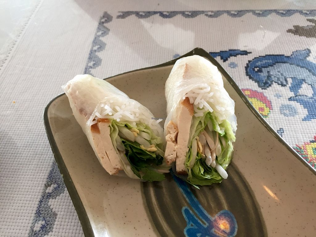 """Photo of Asian Gourmet  by <a href=""""/members/profile/clovely.vegan"""">clovely.vegan</a> <br/>Summer Rolls with tofu.  <br/> October 27, 2015  - <a href='/contact/abuse/image/13673/122912'>Report</a>"""