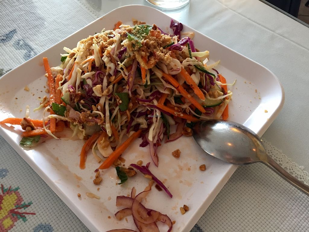"""Photo of Asian Gourmet  by <a href=""""/members/profile/clovely.vegan"""">clovely.vegan</a> <br/>Vietnamese Salad.  <br/> October 27, 2015  - <a href='/contact/abuse/image/13673/122913'>Report</a>"""