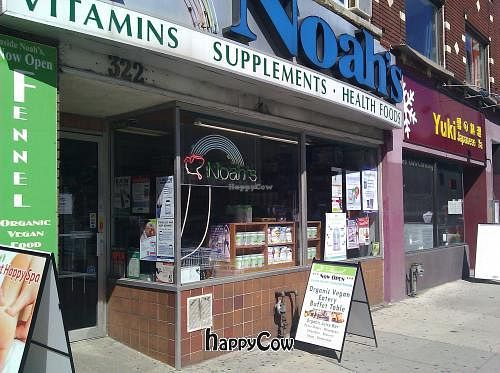 """Photo of Noah's Natural Foods - Bloor St  by <a href=""""/members/profile/eric"""">eric</a> <br/>signage <br/> September 15, 2012  - <a href='/contact/abuse/image/1368/37907'>Report</a>"""