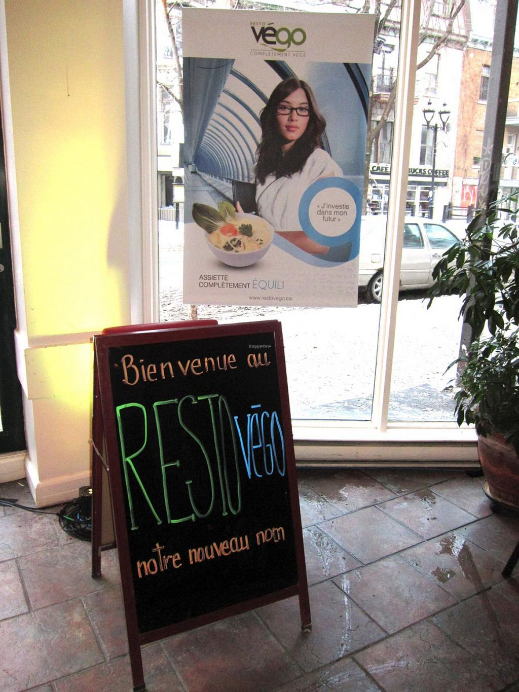 "Photo of CLOSED: Commensal - St Denis  by <a href=""/members/profile/baratron"">baratron</a> <br/>Commensal St Denis rebranded as Resto Végo - sign says 'Welcome to Resto Végo, our new name' <br/> January 29, 2014  - <a href='/contact/abuse/image/1372/63367'>Report</a>"