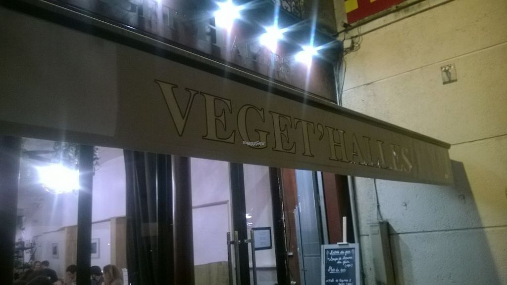 """Photo of Veget'Halles  by <a href=""""/members/profile/Vegan%20Victoria"""">Vegan Victoria</a> <br/>Exterior of Veget'halles in Paris <br/> February 3, 2017  - <a href='/contact/abuse/image/13798/221606'>Report</a>"""