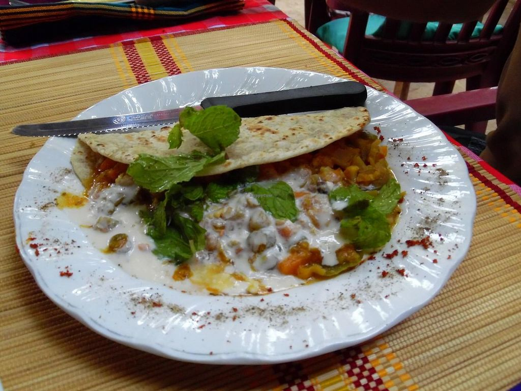 "Photo of Moon Vegetarian Restaurant  by <a href=""/members/profile/Olesya%20Nishanova"">Olesya Nishanova</a> <br/>Fajitas <br/> September 7, 2014  - <a href='/contact/abuse/image/13803/79294'>Report</a>"