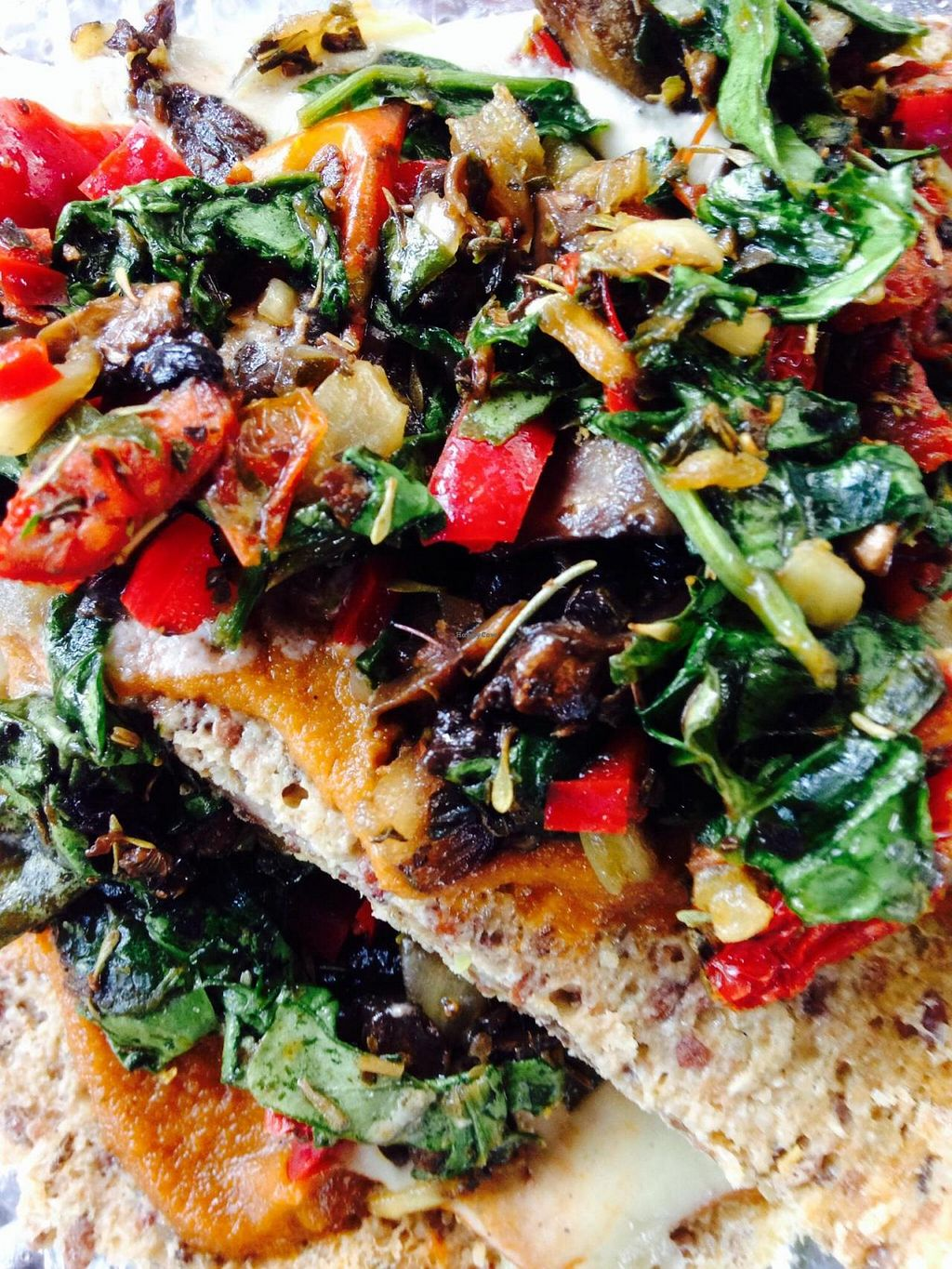 """Photo of Senbeb Cafe  by <a href=""""/members/profile/cookiem"""">cookiem</a> <br/>Raw vegan pizza! <br/> August 23, 2014  - <a href='/contact/abuse/image/13840/77959'>Report</a>"""