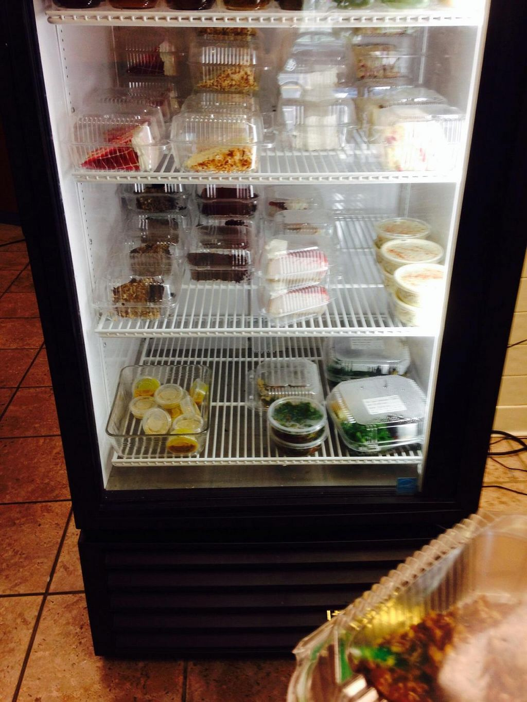 """Photo of Senbeb Cafe  by <a href=""""/members/profile/cookiem"""">cookiem</a> <br/>So many vegan desserts!! <br/> August 23, 2014  - <a href='/contact/abuse/image/13840/77960'>Report</a>"""