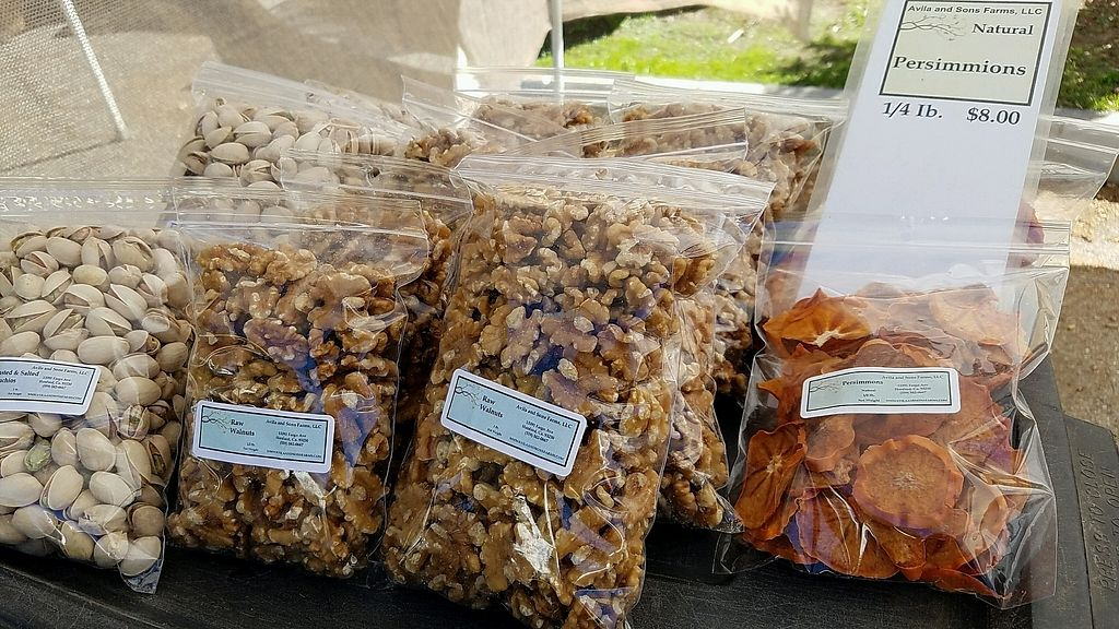 """Photo of Farmer's Market - Main St  by <a href=""""/members/profile/eric"""">eric</a> <br/>dried fruit and nuts <br/> January 28, 2018  - <a href='/contact/abuse/image/13860/352062'>Report</a>"""
