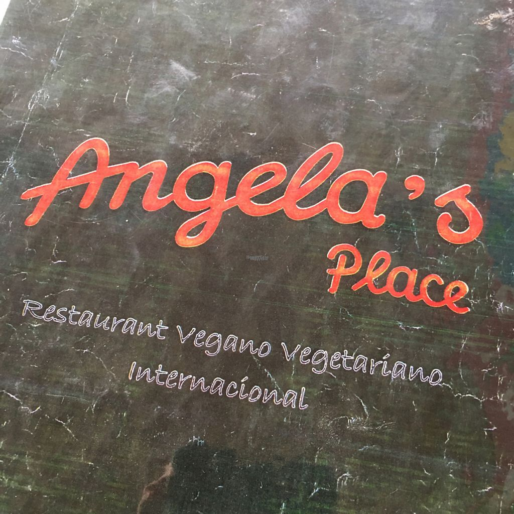 """Photo of Angela's Place  by <a href=""""/members/profile/vegancheeks"""">vegancheeks</a> <br/>signage <br/> January 8, 2017  - <a href='/contact/abuse/image/13889/209631'>Report</a>"""