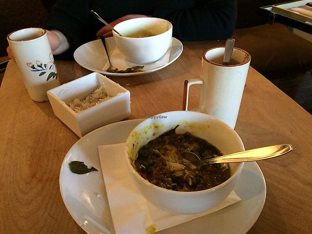 """Photo of Sivertsens Kafe  by <a href=""""/members/profile/Kezme"""">Kezme</a> <br/>delicious spinach dhal <br/> March 14, 2018  - <a href='/contact/abuse/image/13897/370626'>Report</a>"""