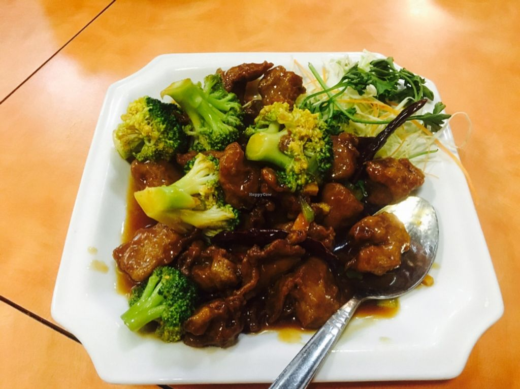 "Photo of Happy Family  by <a href=""/members/profile/amymylove"">amymylove</a> <br/>orange chicken - epic, must try <br/> January 31, 2016  - <a href='/contact/abuse/image/13906/134408'>Report</a>"