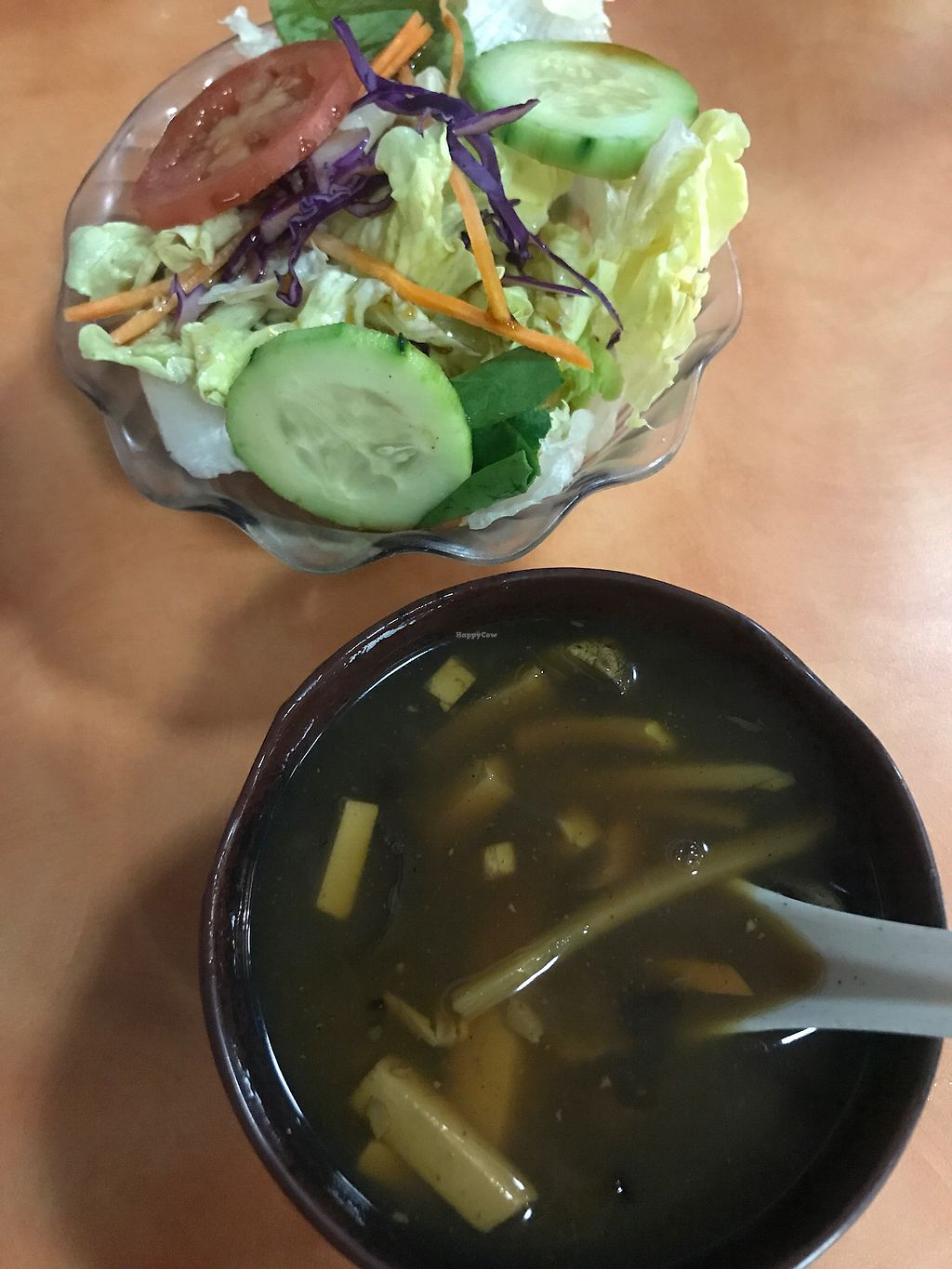 "Photo of Happy Family  by <a href=""/members/profile/VickyLee"">VickyLee</a> <br/>Hot sour soup and salad <br/> February 11, 2018  - <a href='/contact/abuse/image/13906/357703'>Report</a>"