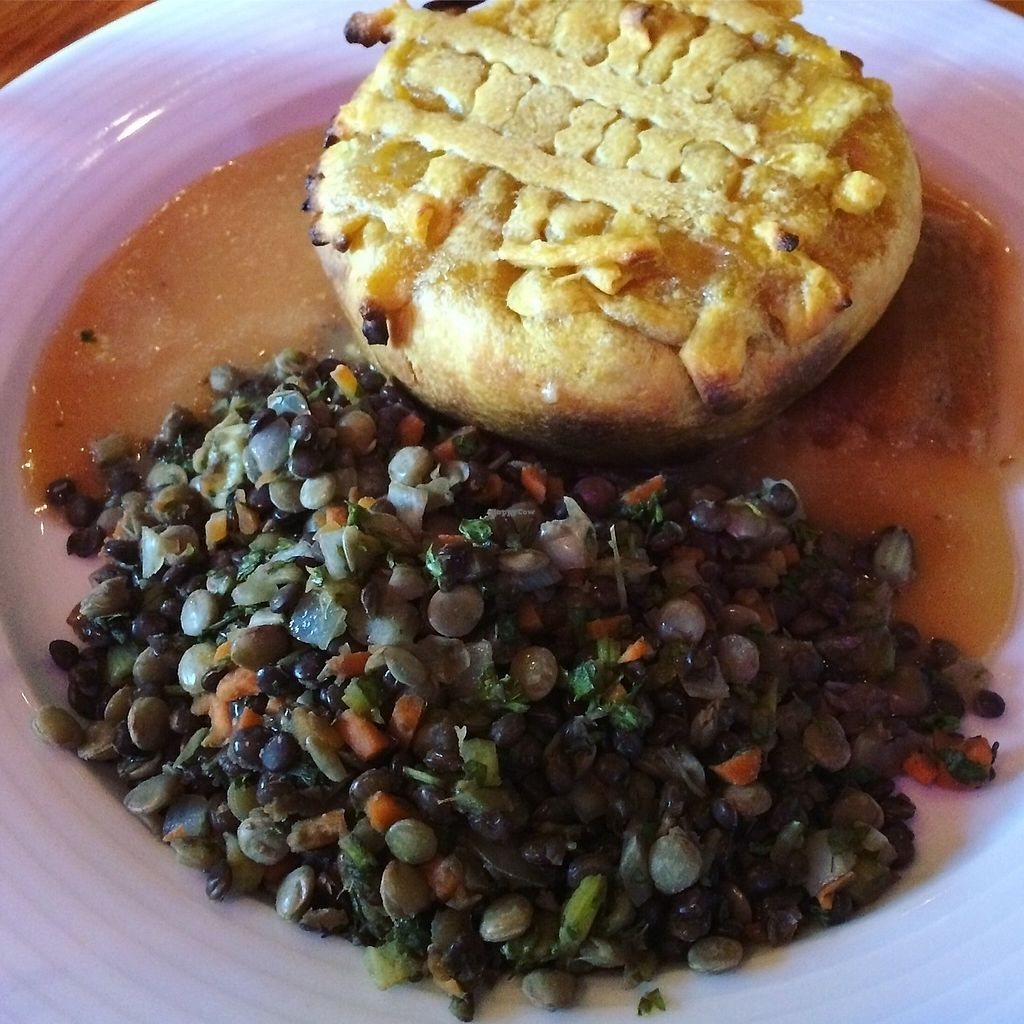 """Photo of Irregardless Cafe  by <a href=""""/members/profile/The%20Vegan%20Chemist"""">The Vegan Chemist</a> <br/>WOODLINE PIE (VEGAN) <br/> July 10, 2017  - <a href='/contact/abuse/image/13915/278770'>Report</a>"""
