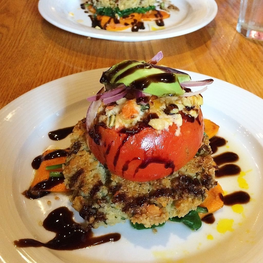 """Photo of Irregardless Cafe  by <a href=""""/members/profile/The%20Vegan%20Chemist"""">The Vegan Chemist</a> <br/>Oak City Chef Challenge dish (2016) <br/> July 10, 2017  - <a href='/contact/abuse/image/13915/278773'>Report</a>"""